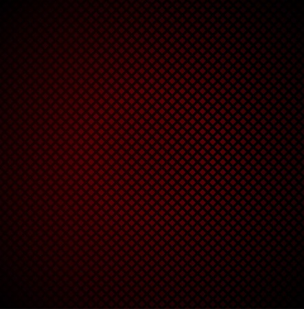 Red technology background with seamless perforated Vector. Vector