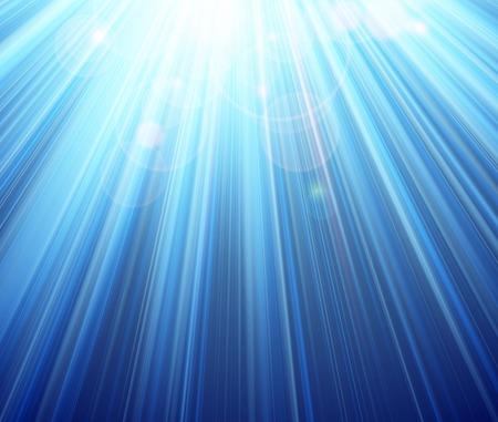 Blue shining magic light background Ilustrace
