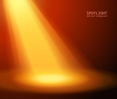 spotlight effect scene background vector