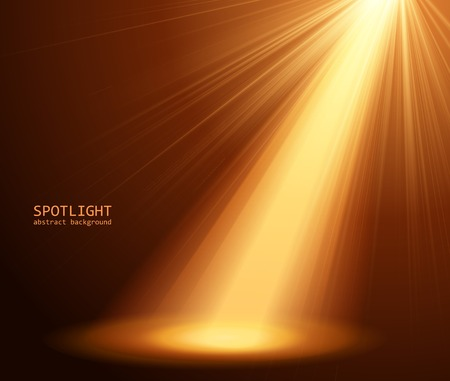 showtime: abstract spotlight background  Illustration