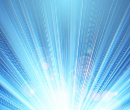 Blue shining magic light vector background Illustration