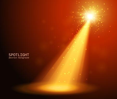 abstract spotlight background  Illustration