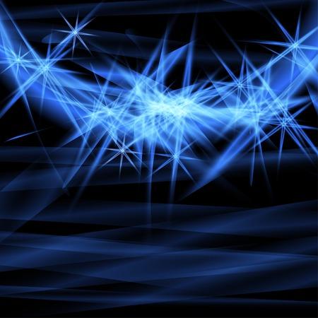 ardent: Astratto sfondo blu ardente