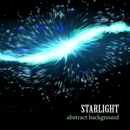 star light: Star light burst vector background