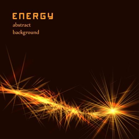 deform: Abstract energy background vector illustration Illustration
