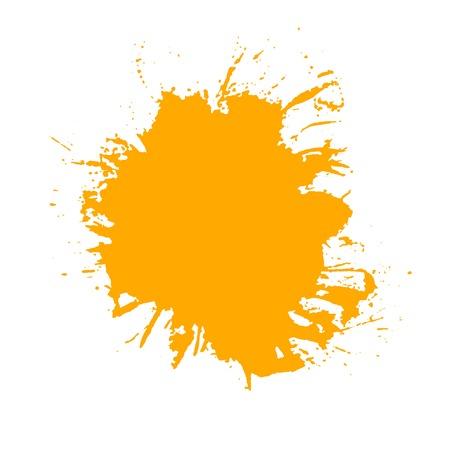 paint splash. Isolated on white background