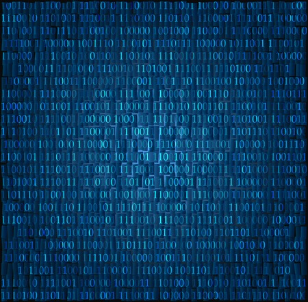 digital code: Technology concept hex code digital background vector