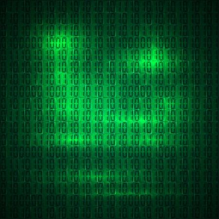 hexadecimal: hexadecimal computer code vector background wallpaper