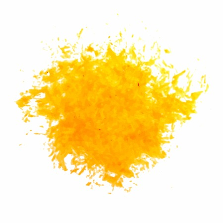 ink splatter: Ink Splatter yellow Background vector