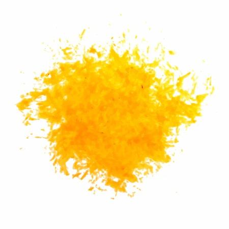ink spill: Ink Splatter yellow Background vector