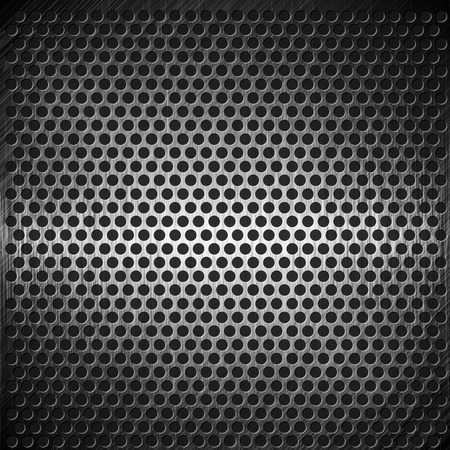 grille: vector abstract dotted metal background design