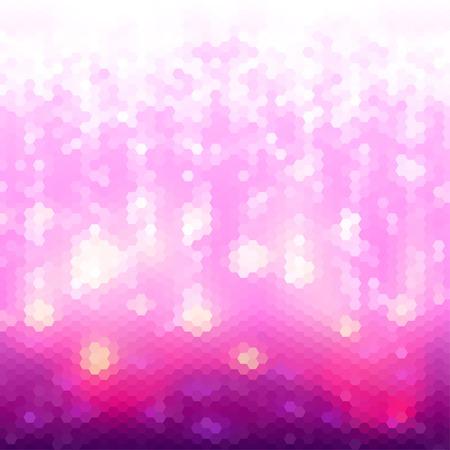 Abstract magenta geometric background. Vector illustration. Ilustração