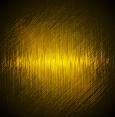 Abstract yellow background. Vector image Banco de Imagens - 37119196