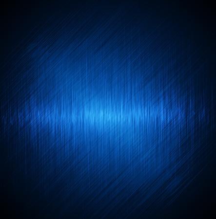Abstracte blauwe achtergrond. Beeldvector Stock Illustratie