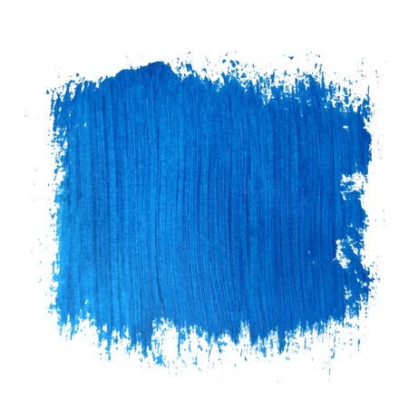 Square blue watercolour banner vector