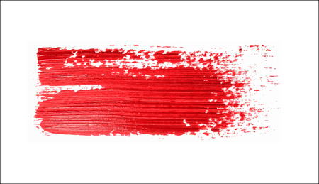 blood draw: red brush strokes -  backdrop for your text. vector Illustration