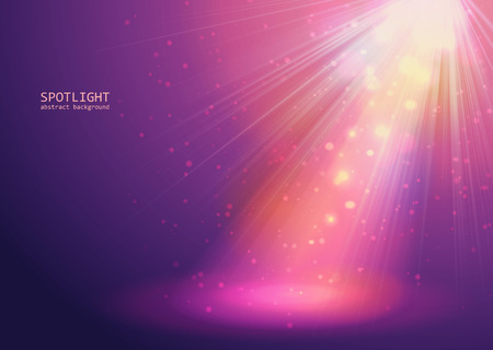 flashes: Concept magenta light background vector eps  10 Illustration
