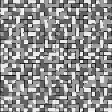 gray scale: Abstract gray scale pixel background, vector illustration