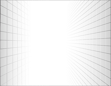 perspective grid: Abstract background with a perspective grid. Vector illustration