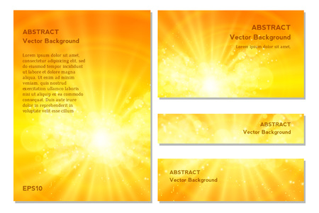 Shiny sun , sunbeams, sunrays, bokeh and space for your text