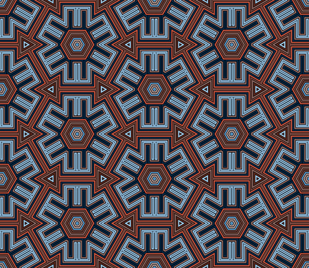 seamless background: Seamless tribal abstract stripped geometric background.