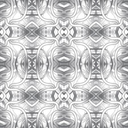 etno: abstract vintage geometric wallpaper pattern seamless background. Illustration