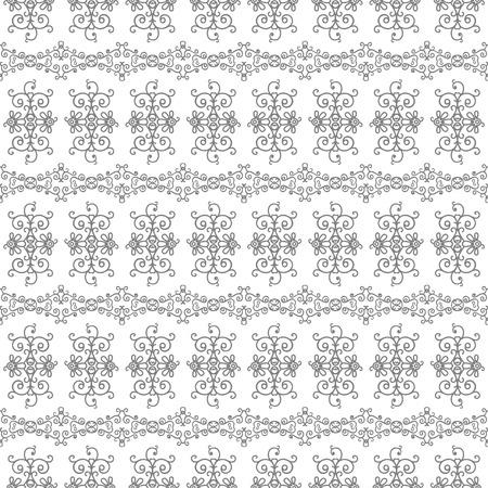 borders plants: Mono line pattern for your design.