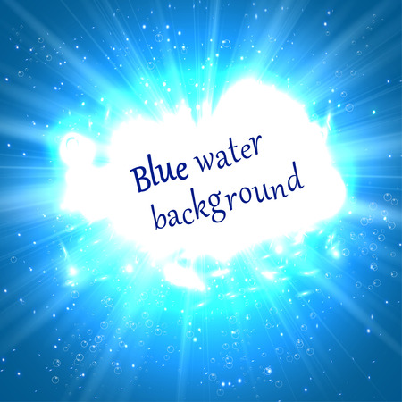 surfaces: underwater abstract blue shine background