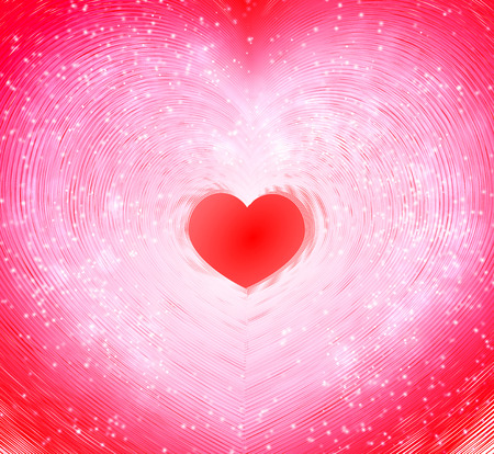 abstract bacground: Valentines day. Abstract bacground for greeting card, vector