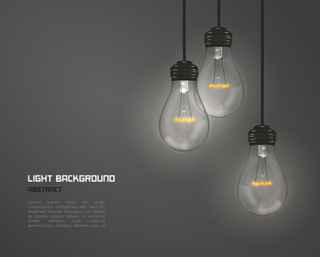 creative background: Creative design of nature lamps