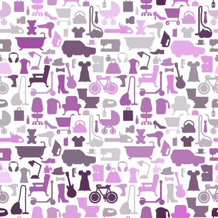 sale icons: Shopping icons pattern with theme for sale, advertising and design. Vector