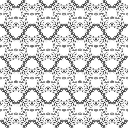 mono: Mono line pattern for your design. Vector illustration Illustration