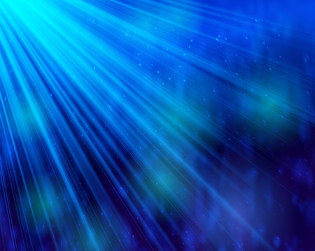 deep blue: Abstract background light and shine bokeh deep blue Illustration