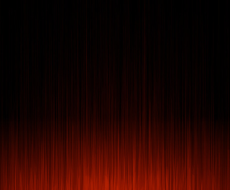 black and red: Abstract gradient line  red background.
