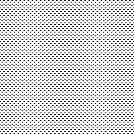 whites: small repeating symmetrical half dot pattern texture on whites