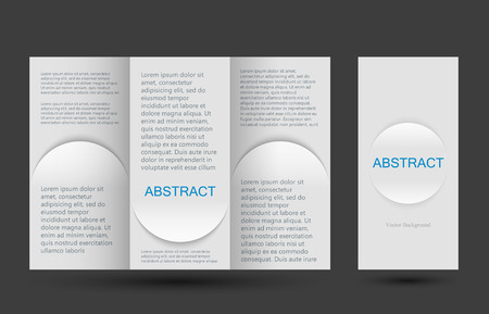 placecard: Strict simple design templates collection for  placards and posters. Illustration