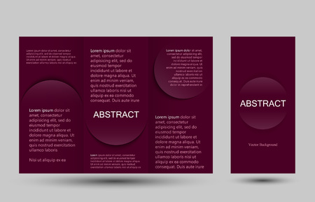 placecard: Strict simple design templates collection for banners, flyers, placards and posters. Vector