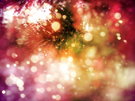 christmastree: Closeup of Christmas-tree background