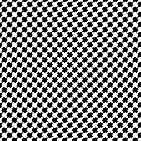 distort: Black and white distort checkered abstract background Illustration