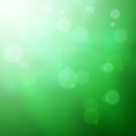 macro leaf: Abstract bokeh background Illustration