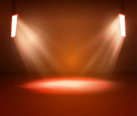 extensive: Lights and Shining for Your Design. Color Background.
