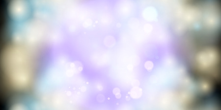 Abstract bokeh background soft and beauty light. Vector.