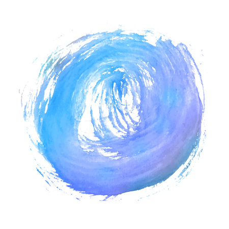 blue brush strokes -  backdrop for your text. vector