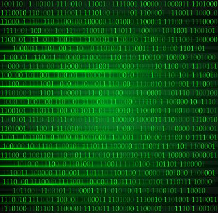 sfondo esadecimale codice computer vettoriale sfondo eps 10 Vettoriali