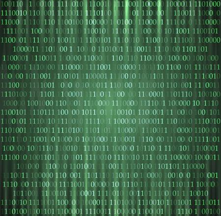 hexadecimal computer code vector background wallpaper eps 10