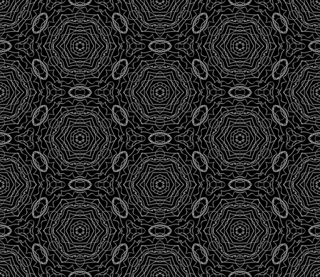 Vector seamless pattern. Modern stylish repeating abstract line background