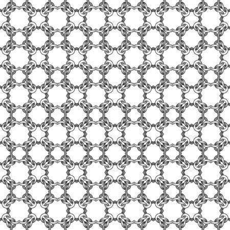 White net on black background. seamless pattern Vector illustration  Vettoriali