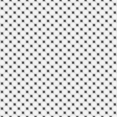 Black and white distort checkered abstract background, vector Ilustração