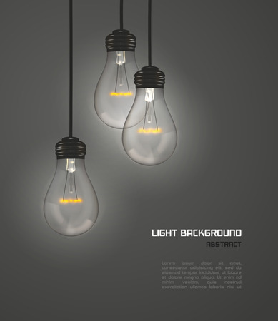 Design creativo di lampade naturali grigie, vettoriali