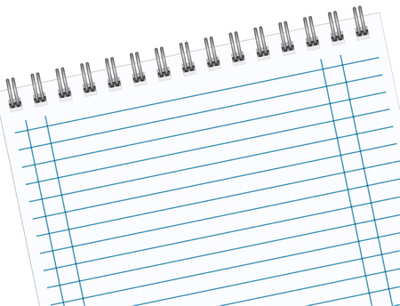 Notebook paper background black lines with margin